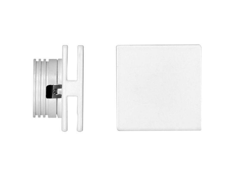 port-faretto-led-segnapasso-quadrato-bianco