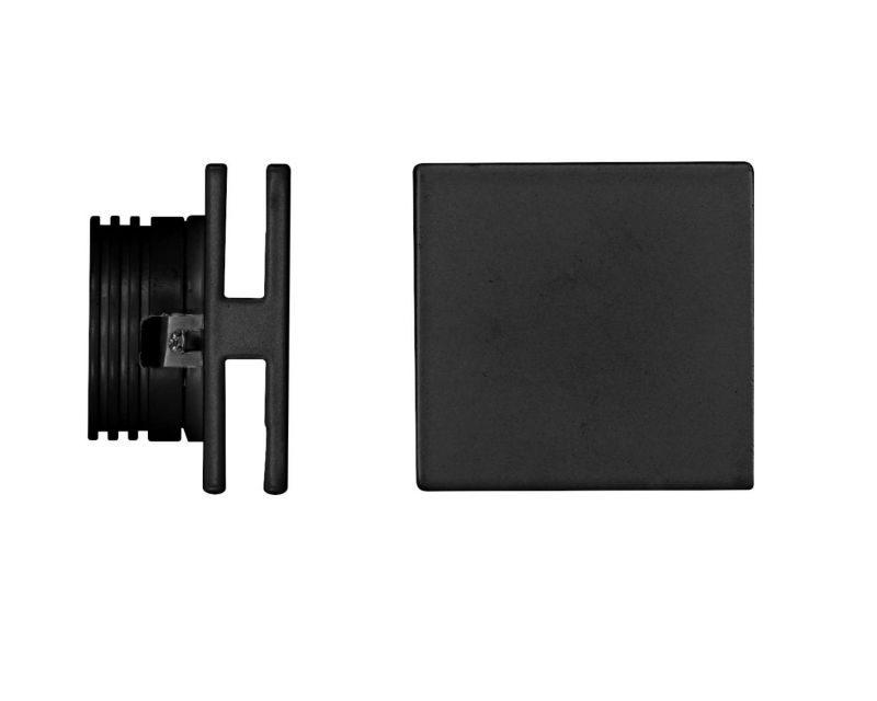 port-faretto-led-segnapasso-quadrato-nero