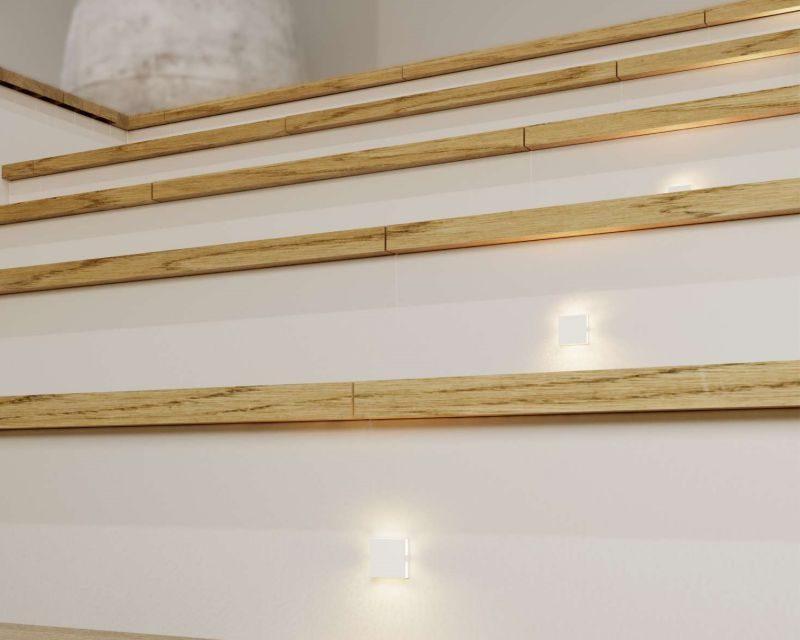 port-faretto-led-segnapasso-quadrato-scale