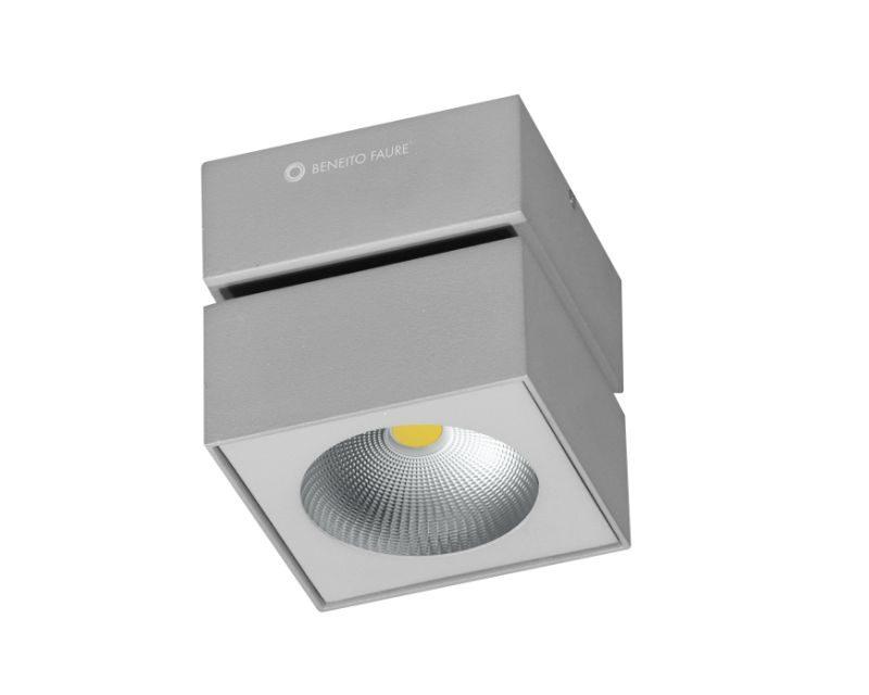 rubyk-beneito-plafone-led-orientabile-quadrato-grigio