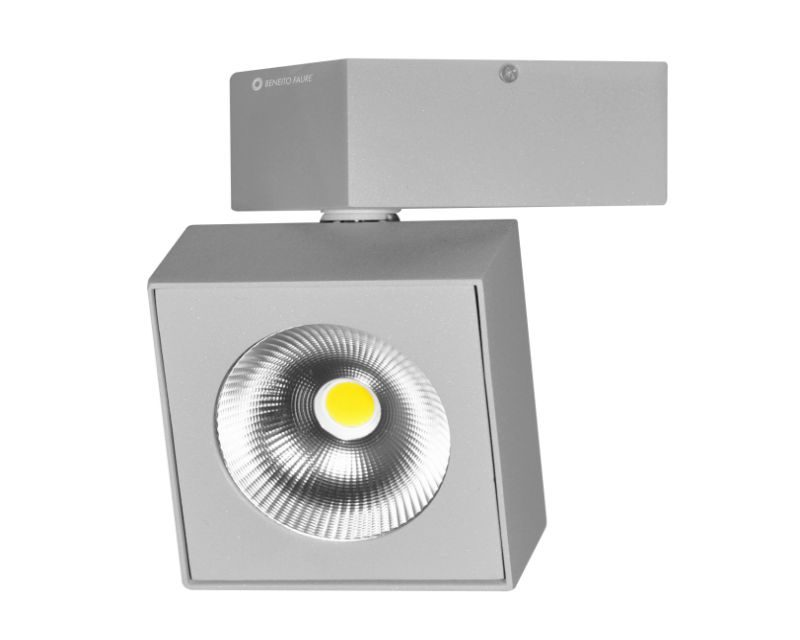 rubyk-beneito-plafone-led-quadrato-grigio-orientabile