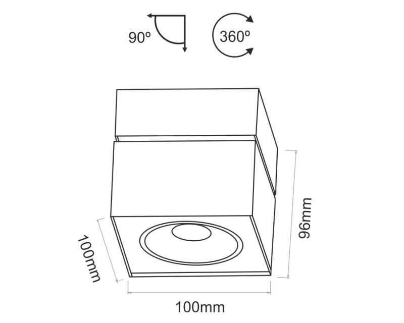 rublk-beneito-plafone-led-quadrato-orientabile-dimensioni