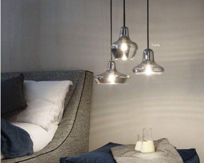 lido-ideallux-lampadario-con-diffusore-in-vetro-soffiato-trasparante-fumè