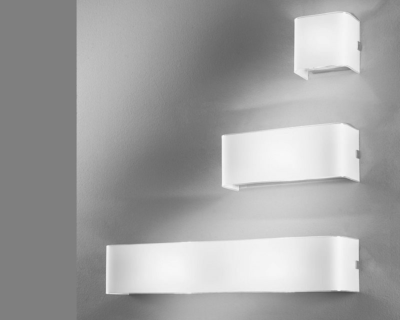 Linear white antealuce lampada da parete lightinspiration.it