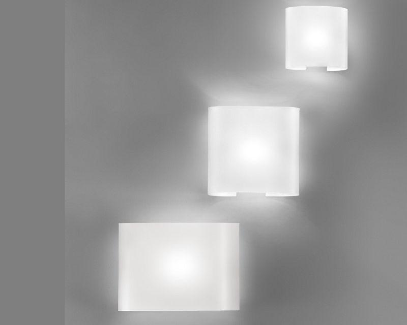 Tayita white antealuce lampada da parete moderna