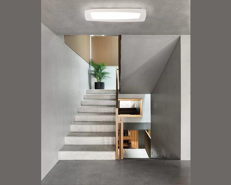 Plafoniere Moderne Da Parete : Debra rettangolo sforzin plafoniera led lightinspiration.it