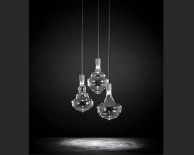 honey-led-trasparente-sforzin-tre-sospensioni