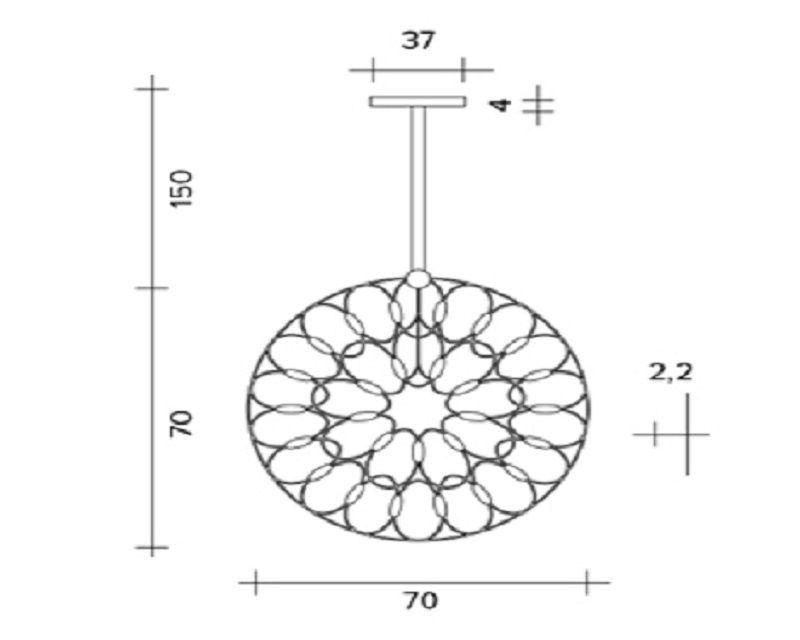 lafra-sospensione-verticale-led-moderna-sforzin-diam.70-disegno
