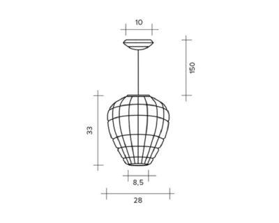 reflex-sforzin-lampada-a-sospensione-tecnica