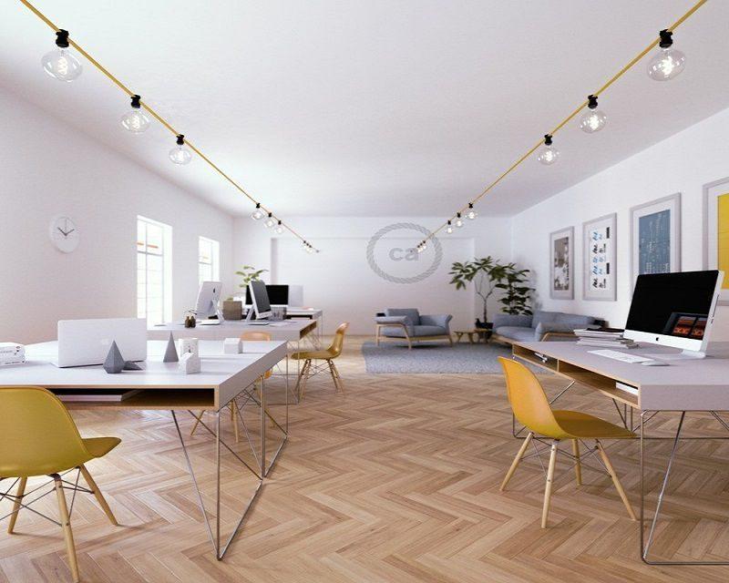 Catenaria per interni oro creative cables lightinspiration.it