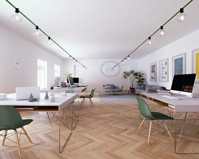 cavi-elettrici-verde-scuro-per-lampade-da-interni-ambientazione-creative-cables
