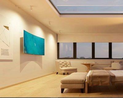 picolo-aluminium-faretto-soffitto-con-base-beneito-faure-ambientazione