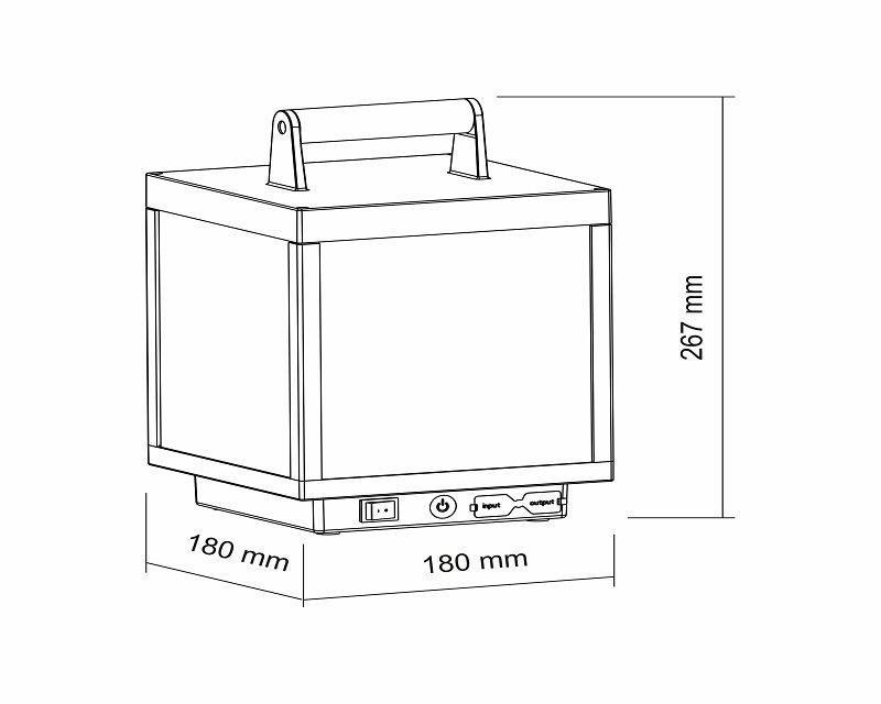 visor-aluminium-led-disegno-tecnico
