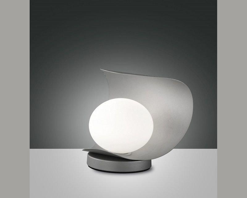 Lampada Da Comodino Argento.Adria Fabas Lampada Da Tavolo Led Lightinspiration It