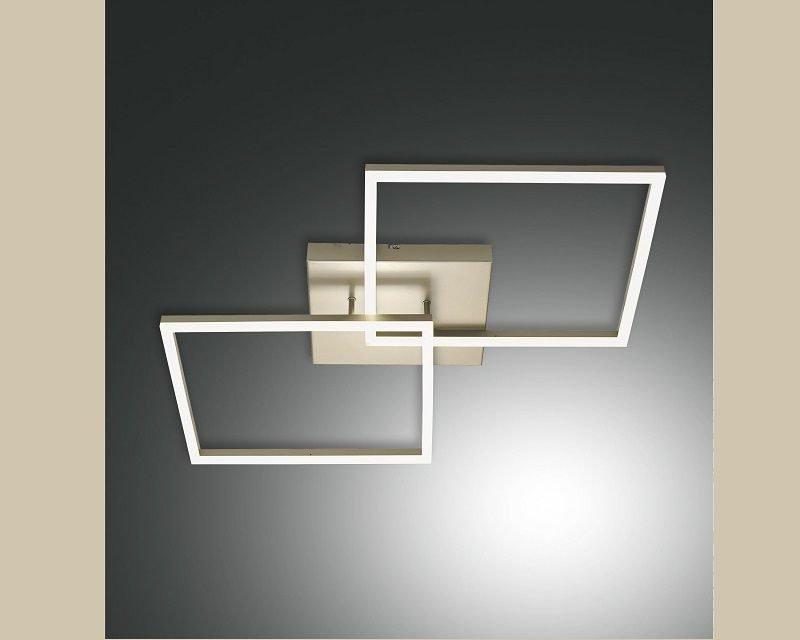 bard-lampada-soffitto-led-oro-opaco-fabas