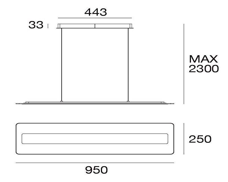 antille-lampadario-sospensione-led-moderna-linea-light-tecnica