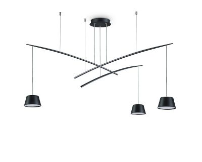 fish-lampadario-sospensione-led-tre-luci-nero-ideal-lux