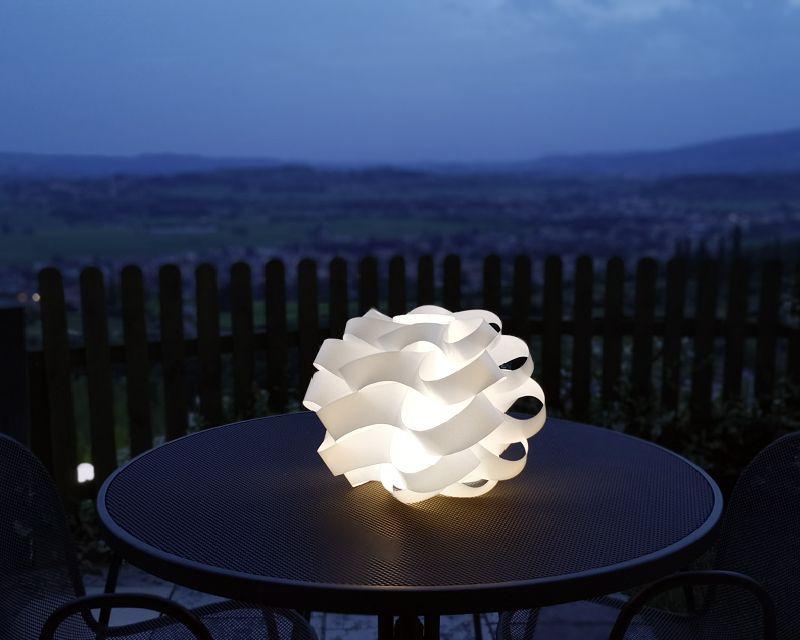Tavoli Luminosi Da Esterno.Cloud Linea Zero Lampada Led Da Esterno Lightinspiration It