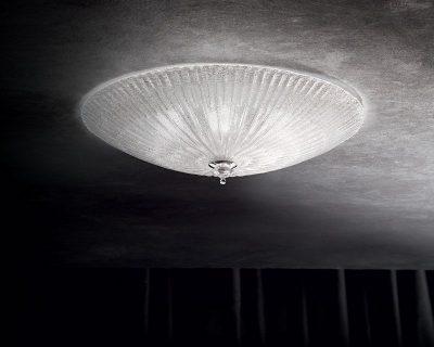 shell-applique-classica-vetro-trasparente-ideal-lux