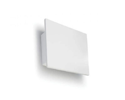 8672B 9010 Belfiore Applique in ceramica bianca