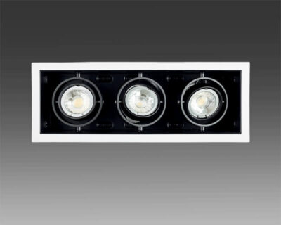 Container Logica Marino Cristal Plafone Orientabile 3 luci
