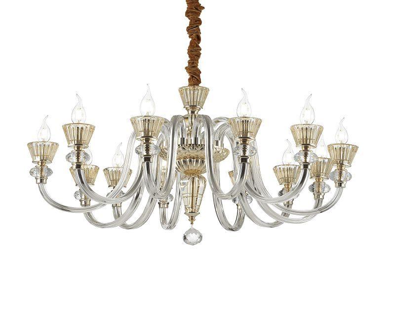 strauss-lampadario-sospensione-classico-vetro-soffiato-ideal-lux