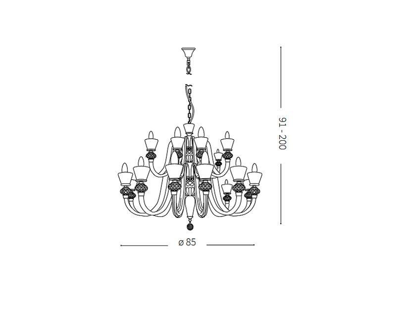 strauss-lampadario-sospensione-vetro-classico-ideal-lux-tecnica