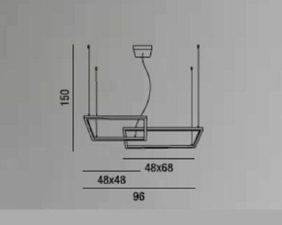 cross-lampadario-sospensione-orizzontale-led-due-riquadri-perenz-scheda-tecnica