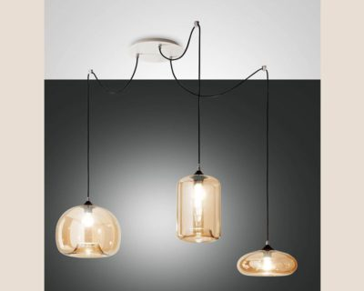 fiona-lampadario-sospensione-vetro-soffiato-ambra-fabas