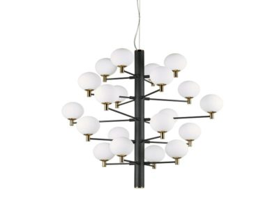 copernico-lampadario-sospensione-classico-nero-ideal-lux