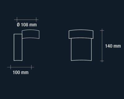 dafne-applique-led-verticale-esterno-vivida-luce-tecnica