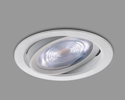 faro-led-tondo-orientabile-18w-vivida-luce-VRD-25-18