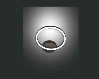 giotto-applique-led-smart-singola-nera-dimmerabile-fabas