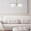 jugen-lampadario-moderno-due-luci-vetro-soffiato-miloox-sforzin-ambientazione