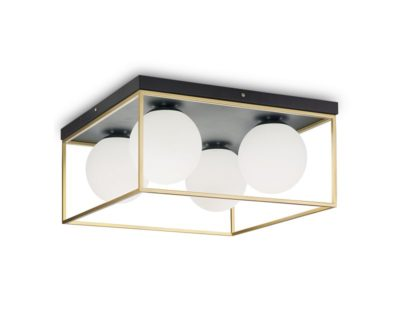 lingotto-ideal-lux-lampada-soffitto-moderna-vintage-quattro-luci