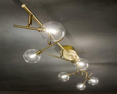 maracas-lampadario-soffitto-classico-ottone-satinato-ideal-lux-ambientazione