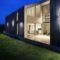 Puzzle Outdoor Double Round Studio Italia Design Applique led Orientabile da esterno