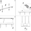 triade-lampadario-tre-sospensioni-classico-ideal-lux-montaggio