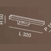 saura-applique-cromo-small-led-fabas