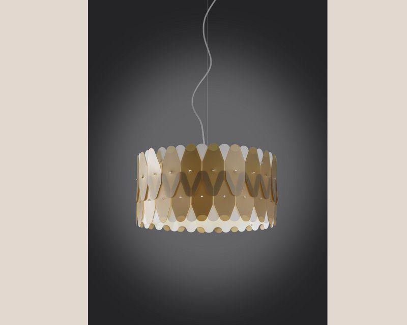 amanda-lampadario-sospensione-oro-metal-linea-zero