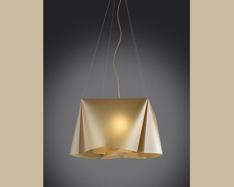 wanda-lampadario-sospensione-oro-metal-linea-zero