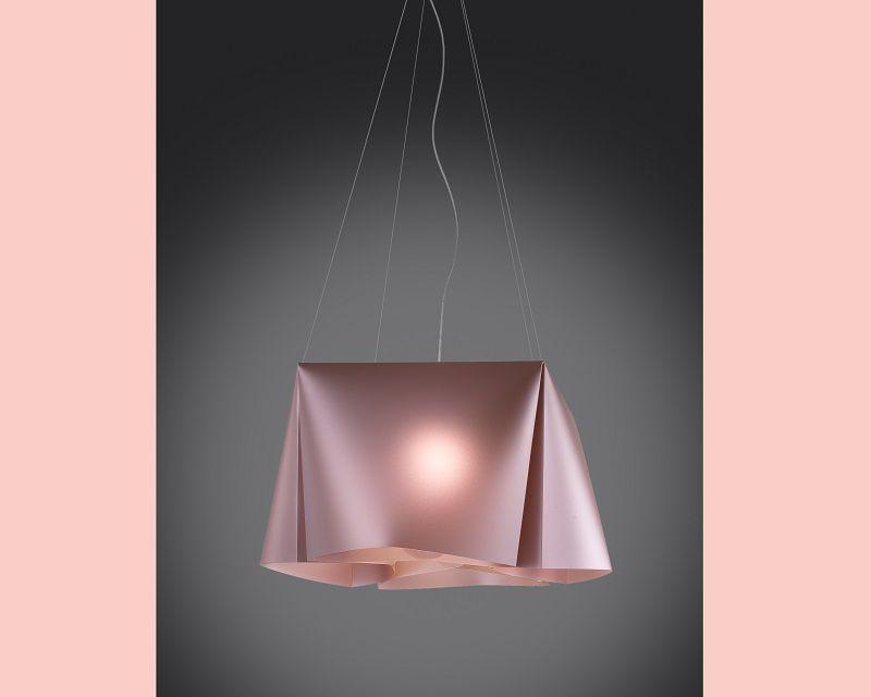 wanda-lampadario-sospensione-rosa-metal-linea-zero
