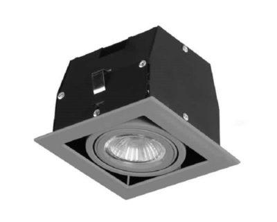 faretto-led-quadrato-orientabile-grigio-cardan-forlight