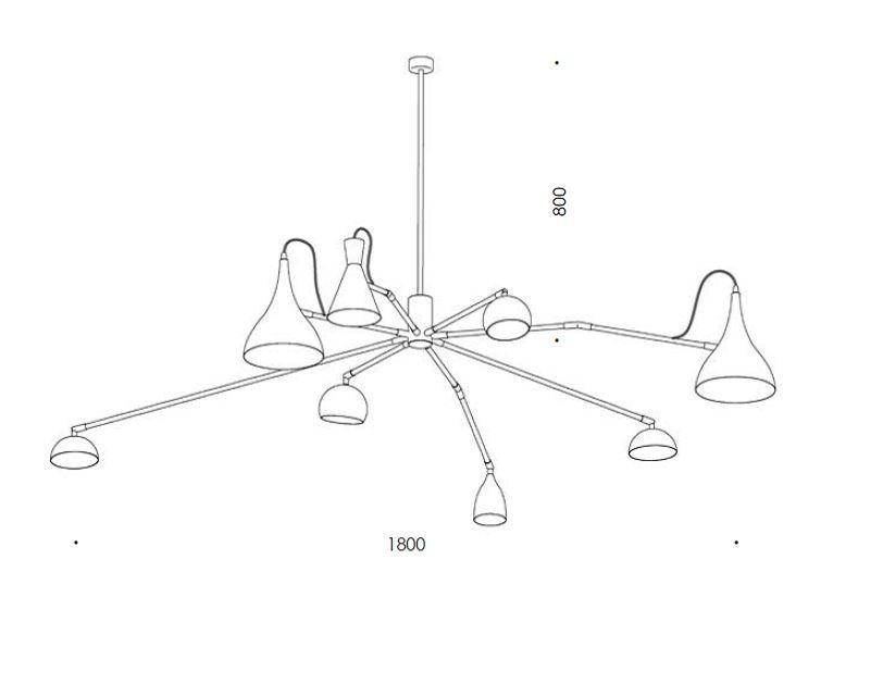 imperfetto-lampadario-sospensione-ferro-renzo-serafini-tecnica