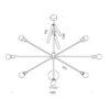 stella-articolata-lampadario-sospensione-ferro-renzo-serafini-tecnica