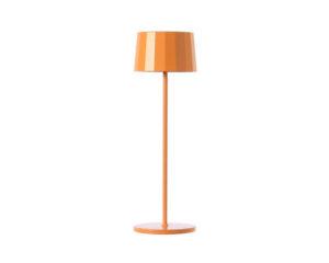 Twiggy Less Marino Cristal Lampada da Tavolo Led Ricaricabile Arancio