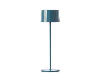Twiggy Less Marino Cristal Lampada da Tavolo Led Ricaricabile Blu Avion