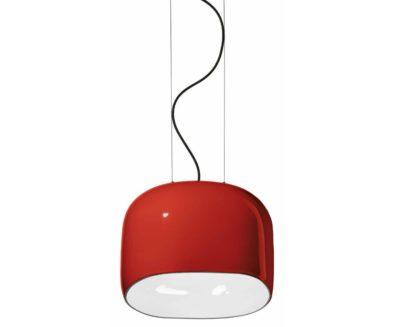 ayrton-ferroluce-lampadario-rosso-lucido-grande