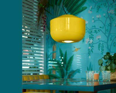 bellota-ferroluce-lampadario-giallo-moderno-grande-ambiente