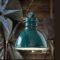 Lampadario C1750 Industrial Collection Ferroluce Verde